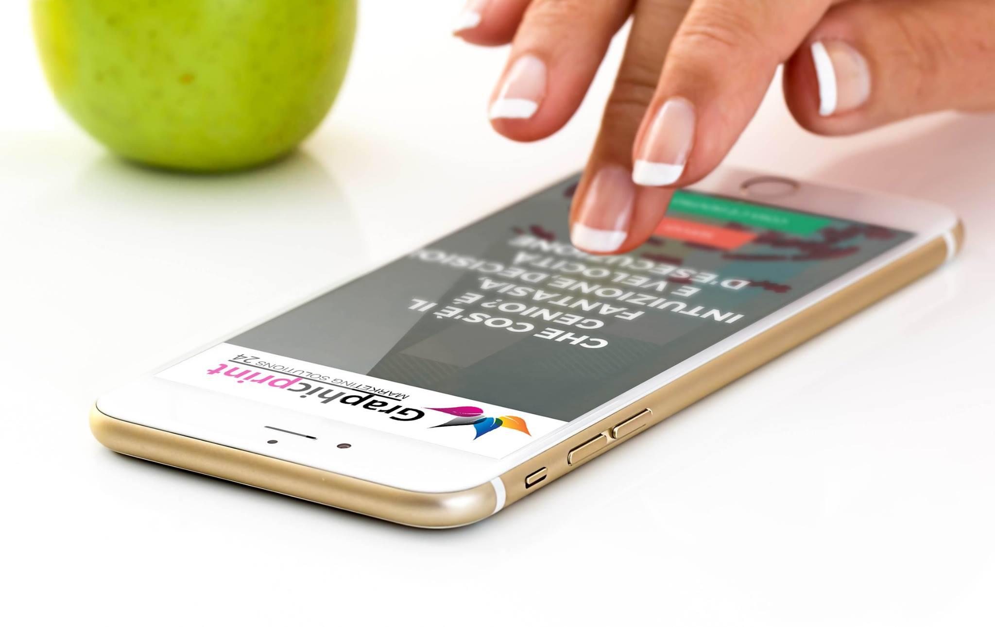Il sito pensalo mobile graphicprint 24 for Sito mobili
